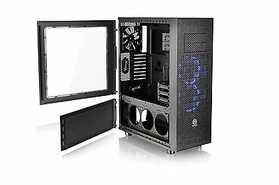 Thermaltake Core X71 Full Tower Chassis - Mid-tower - Black - Spcc - 7 X Bay - 3