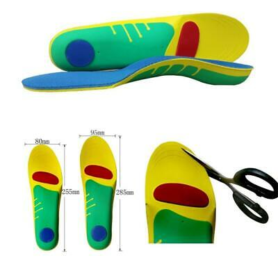Orthotic Insoles Pad for Arch Support Plantar Fasciitis Flat Feet Heel Spurs S/L