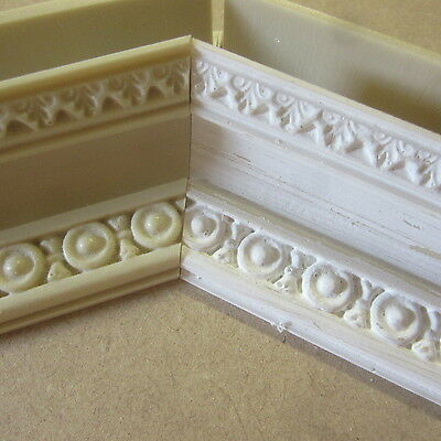 Dolls House DIY    Detailed Coving / Cornice   AD 4010