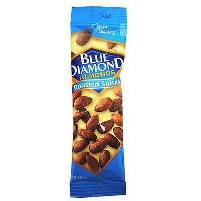 Bulk Buys Blue Diamond Roasted and Salted Almonds Case of 12