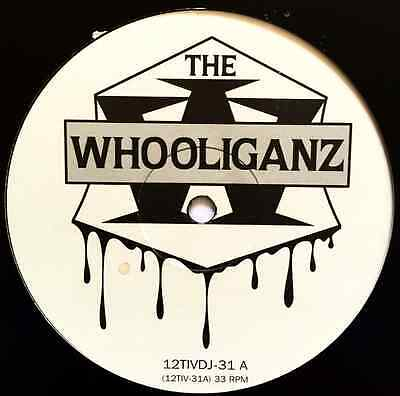 """THE WHOOLIGANS FT B-REAL - Whooliganz (12"""") (Promo) (G+/G)"""
