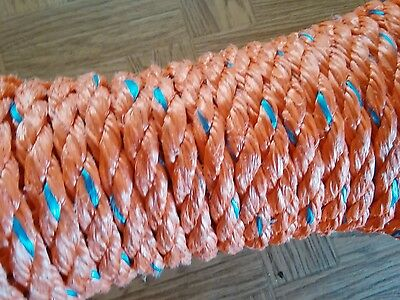 60 feet of 5/8 inch high impact copolymer rope(VERY STRONG ROPE)