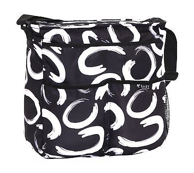 Mummy Maternity Diaper Baby Handbag Wipe Clean Nappy Changing Mat Bag Bottle