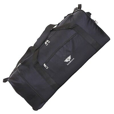 Extra Lightweight Large 80 cm Foldable Wheeled Holdall Luggage Duffle Sports Bag