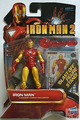 "IRON MAN #28 Iron Man MARVEL UNIVERSE Comic Series 2009 3.75"" INCH ACTION FIGURE"