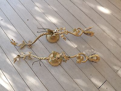 Exquisite  Antique French StyleToleware & Delicate  Wall Light Sconces