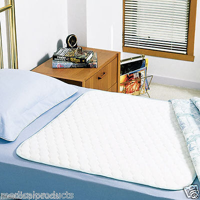 3 NEW BED PADS REUSABLE UNDERPADS 36x72 HOSPITAL MEDICAL INCONTINENCE WASHABLE