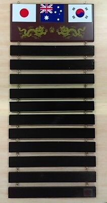 Yamasaki Martial Art Belt Rack