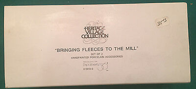 Department 56 Dickens Village - Bringing Fleeces to the Mill - Set of 2