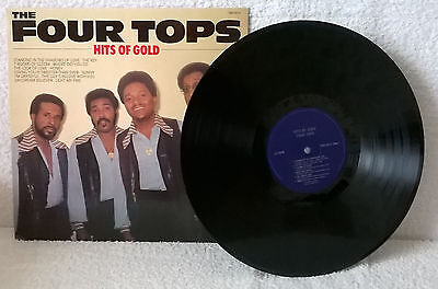 The Four Tops-Hits Of Gold-1982-Vinyl-Ex/ex