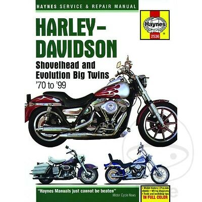 FXD 1340 Dyna Super Glide 1995 Haynes Service Repair Manual 2536