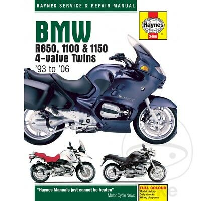 BMW R 1150 GS ABS 2001 Haynes Service Repair Manual 3466
