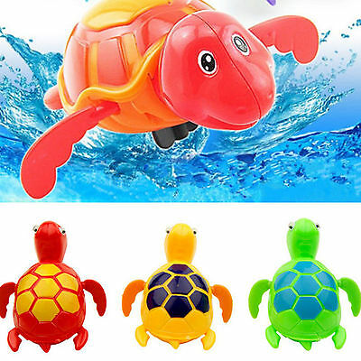 Up Wind up Swimming Turtle Animal Toy For Kids Baby Children Pool Bath Time