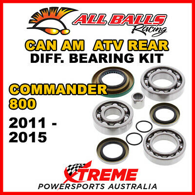 25-2086 Can Am Commander 800 2011-2015 ATV Rear Differential Bearing Kit