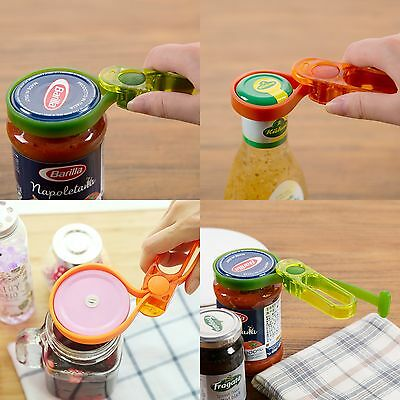 Multipurpose Power Grip Jar & Bottle Opener Adjustable Rubber Strap Kitchen Tool