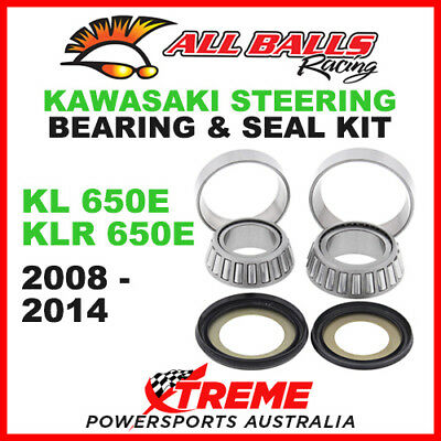 22-1009 Kawasaki KL650E KLR 650E 2008-2014 Steering Head Stem Bearing Kit