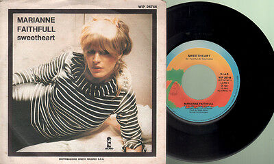 Faithfull Marianne - Sweetheart/Strange one