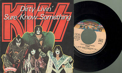 Kiss - Dirty livin/Sure know something