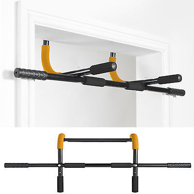 Gold Coast 4 in 1 Home Workout Door Gym Pull / Sit / Press / Push/ Chin Up Bar