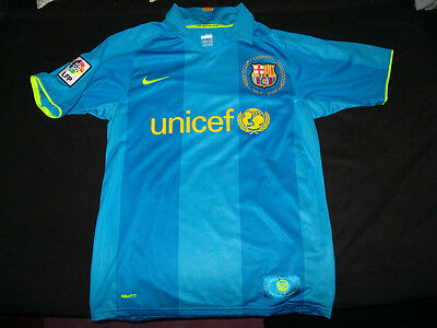 Rare Barcelona away shirt #14 HENRY Camp Nou Anniversary 1957-2007 Size S 36/38