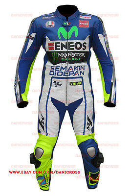 Valentino Rossi Suit Motorbike Leather Race Suit - High Quality Racing Suit