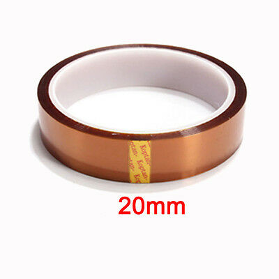 20mm 100ft Kapton Tape Adhesive High Temperature Heat Resistant Polyimide
