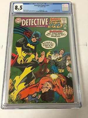 Detective Comics 371 Cgc 8.5 White Pages