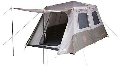 Coleman 8 Person Instant Up Full Fly Tent - Shade & Protection in Under 2 Mins