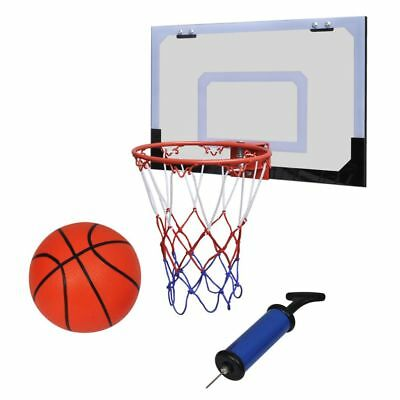 Mini Basketball Goal Hoop Net Set with Ball and Pump Indoor Sporting Goods