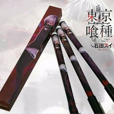 1pc Tokyo Ghoul Kaneki Ken Black Gel Pen Anime Student Writing Rollerball Pen
