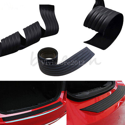 Car Rear Trunk Bumper Rubber PAD Guard Protector Double SideTape For BMW VW Jeep