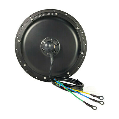 New 48V 1500W Threaded Rear Wheel Brushless Gearless Hub Motor for Ebike