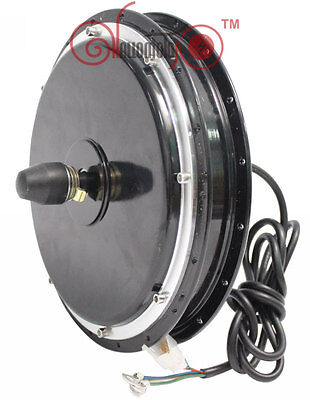 Quiet 48V 1200W Front Wheel Brushless Gearless Hub Motor for Electric Bicycle
