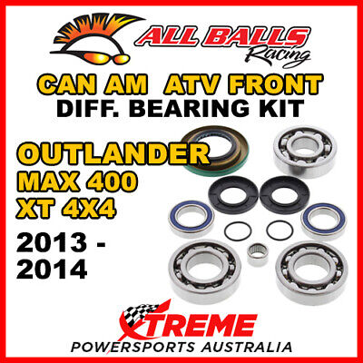 25-2069 CanAm Outlander MAX 400 STD 4X4 13-14 ATV Front Differential Bearing Kit