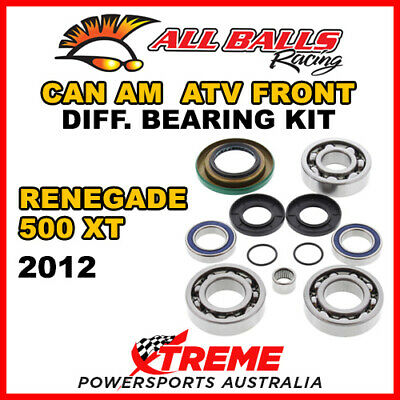 25-2069 Can Am Renegade 500 XT 2012 ATV Front Differential Bearing Kit
