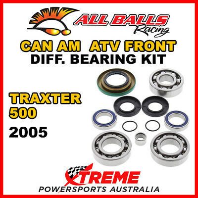 25-2069 Can Am Traxter 500 2005 ATV Front Differential Bearing Kit
