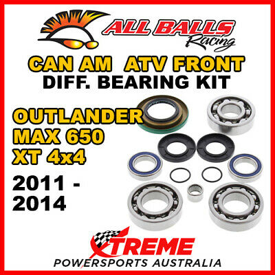 25-2069 Can Am Outlander MAX 650 XT 4x4 11-14 Front Differential Bearing Kit