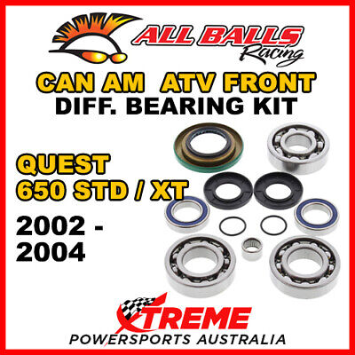 25-2069 Can Am Quest 650 STD/XT 2002-2004 Front Differential Bearing Kit