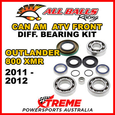 25-2069 Can Am Outlander 800 XMR 2011-2012 Front Differential Bearing Kit