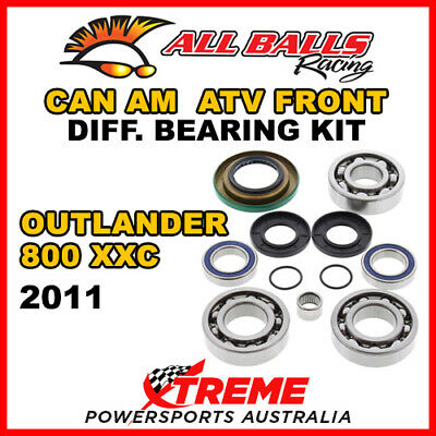 25-2069 Can Am Outlander 800 XXC 2011 Front Differential Bearing Kit