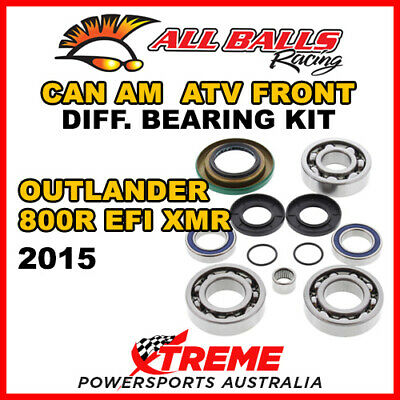 25-2069 Can Am Outlander 800R EFI XMR 2015 Front Differential Bearing Kit