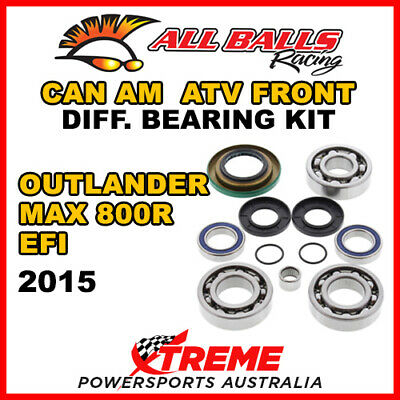 25-2069 Can Am Outlander MAX 800R EFI 2015 Front Differential Bearing Kit