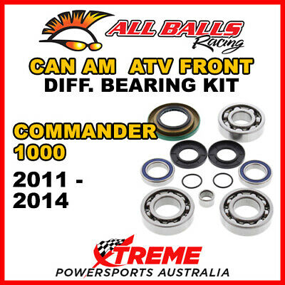 25-2069 Can Am Commander 1000 2011-2014 ATV Front Differential Bearing Kit