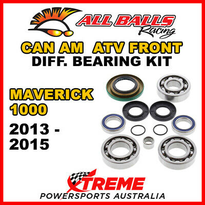 25-2069 Can Am Maverick 1000 2013-2015 ATV Front Differential Bearing Kit