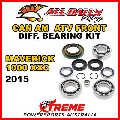 25-2069 Can Am Maverick 1000 XXC 2015 ATV Front Differential Bearing Kit