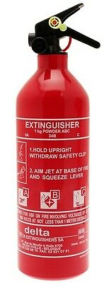 Fire Extinguisher 1kg Bc Dry Powder 1151A Delta New