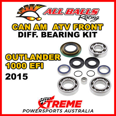 25-2069 Can Am Outlander 1000 EFI 2015 ATV Front Differential Bearing Kit