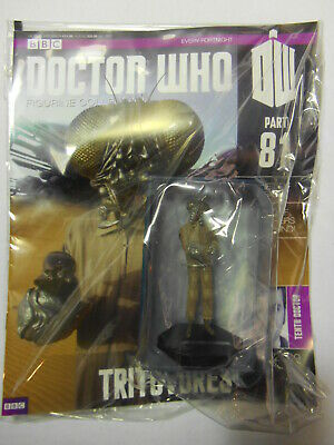 DOCTOR WHO FIGURINE COLLECTION #81 TRITOVORE (Eaglemoss 2016)