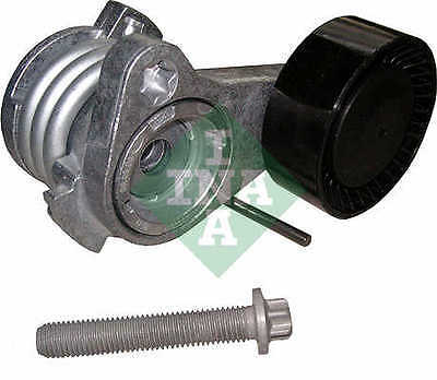 BMW 325 Auxilliary Belt Tensioner 2.5,3.0 2005 on 534025210 Drive V-Ribbed INA