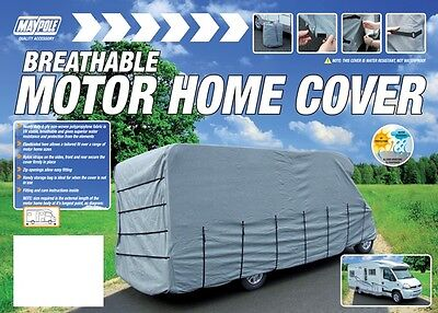 Maypole 9421 Motorhome Cover - Fits up to 5.7m - Grey New